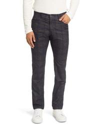 Brax Cooper Regular Fit Plaid Five Pocket Pants