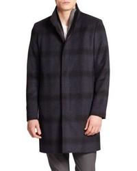 Theory Belvin Plaid Coat
