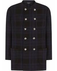 Dolce & Gabbana Double Breasted Check Blazer