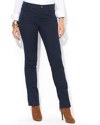 Plaid modern skinny pants medium 53431