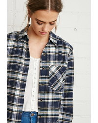 Forever 21 Flannel Plaid Shirt