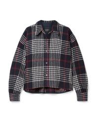 Isabel Marant Hanao Plaid Wool Shirt