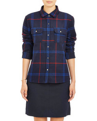 A.P.C. Plaid Flannel Shirt