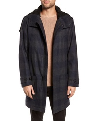 Vince Plaid Duffle Coat