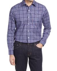 Peter Millar Allen Plaid Button Up Shirt