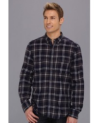 French Connection Cobra Plaid Shirt