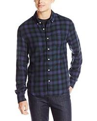 Joe's Jeans Slim Fit Shirt Navy Forest