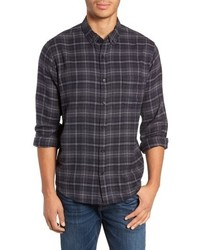 Rails Lennox Slim Fit Plaid Sport Shirt