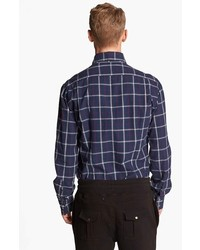 Michael Bastian Michl Bastian Plaid Oxford Shirt