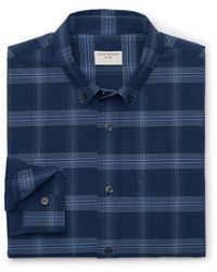 Club Monaco Modern Slim Fit Plaid Shirt
