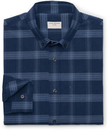 Club Monaco Modern Slim Fit Plaid Shirt
