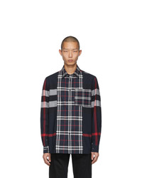 Burberry Navy Check Tisdale Shirt