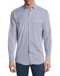 Peter Millar Plaid Cotton Casual Button Down Shirt