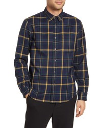 Club Monaco Plaid Twill Shirt