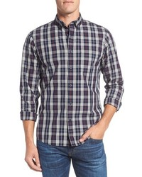 Shop slim fit plaid sport shirt medium 963097