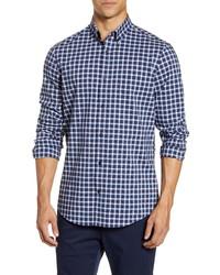 Nordstrom Men's Shop Tech Smart Regular Fit Check Shirt