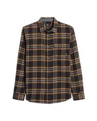 Vans Westminster Plaid Cotton Button Up Shirt