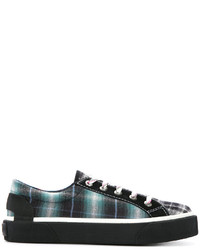 Tartan panel sneakers medium 5204930