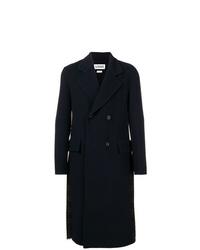 Loewe Double Breasted Pleated Back Coat