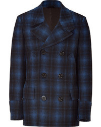 Ps by blue and black plaid coat medium 13971