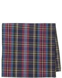 Affleck plaid pocket square medium 53335