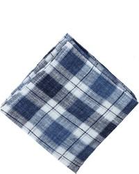 Linen plaid pocket square medium 277430
