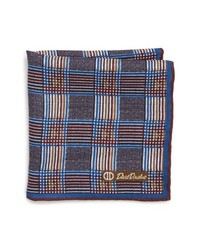 David Donahue Plaid Pocket Square
