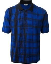 Kenzo Scribble Check Polo Shirt