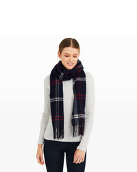 Club Monaco Ammelie Plaid Scarf