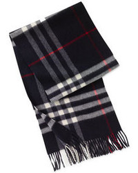 Heritage check cashmere scarf medium 99160