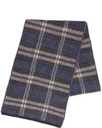 Lardini Plaid Wool Blend Scarf