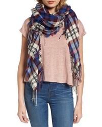 Softplaid fringe scarf medium 4953077