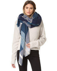 Spun scarves by subtle luxury plaid dipity scarf medium 842048
