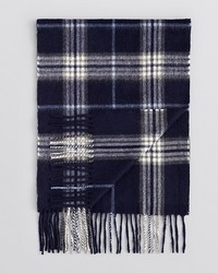 Bloomingdale's The Store At Plaid Cashmere Scarf