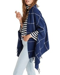 Madewell Windowpane Cape Scarf