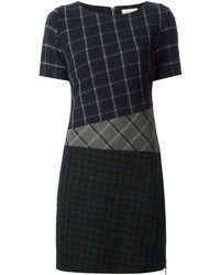 Band Of Outsiders Mixed Check Print Dress
