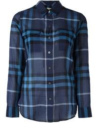 Burberry Checked Longsleeved Shirt