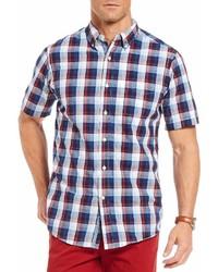 Daniel Cremieux Cremieux Large Plaid Short Sleeve Woven Shirt