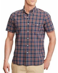 Polo Ralph Lauren Plaid Cotton Button Down Shirt