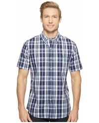 U.S. Polo Assn. Striped Plaid Or Print Single Pocket Slim Fit Sport Shirt