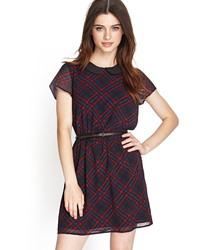 Plaid peter pan collar dress medium 424130