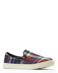 Plaid Emmie Slip On Sneakers