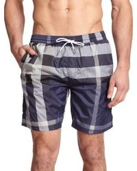916014b1b0 Burberry Gilmoor Printed Swim Trunks Navy Out of stock · Burberry Gowers  Checked Swim Trunks