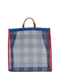P.A.R.O.S.H. Checked Tote