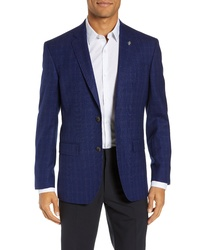 15cdbe10f12460 Ted Baker London Fit Plaid Wool Sport Coat