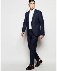 ... Sisley Slim Fit Mini Plaid Suit Jacket 45c10cfd8