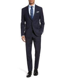Ted Baker London Jay Trim Fit Plaid Wool Suit