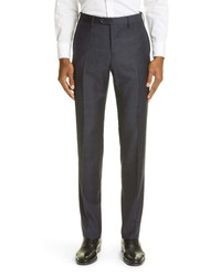 Giorgio Armani Plaid Virgin Wool Suit