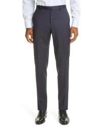 Boglioli Travel K Plaid Stretch Wool Suit