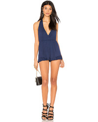 Clayton Helina Playsuit In Blue